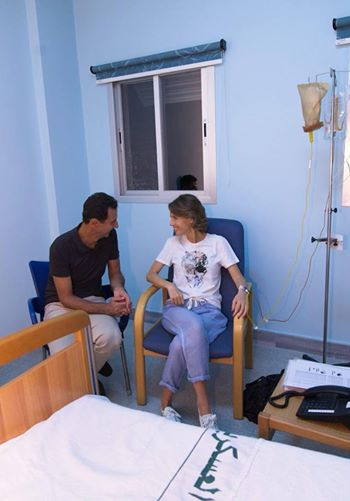 «اسماء اسد» به سرطان مبتلا شده است