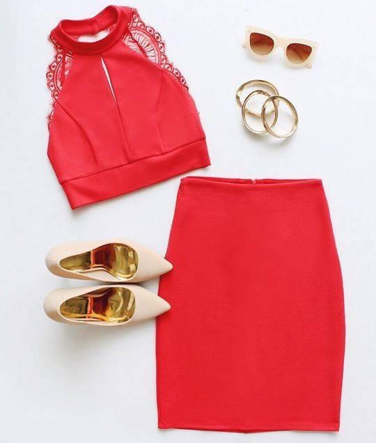 ست مانتو جلو باز با شلوار مدل های ست لباس قرمز با کفش پاشنه بلند