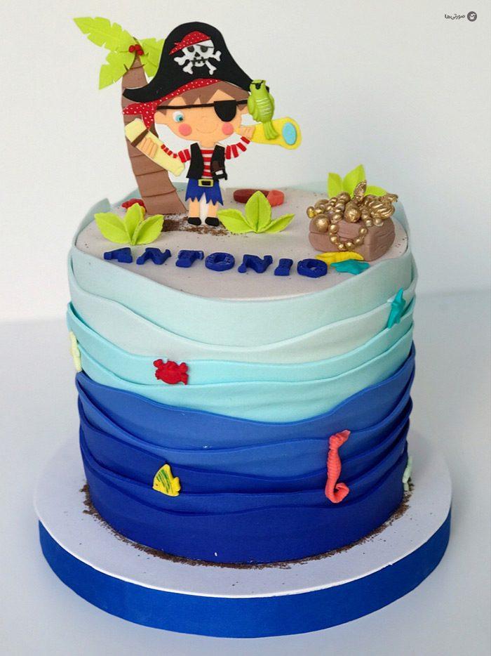 ۱۰ ایده جذاب تزیین کیک تولد پسرانه