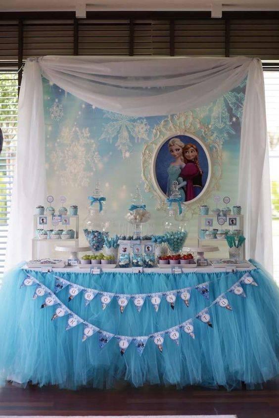Frozen Birthday Decoration Frozen Birthday