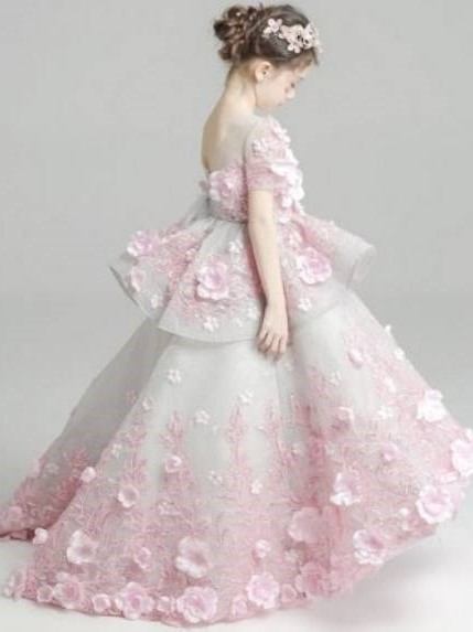 مدل لباس پرنسسی دخترانه