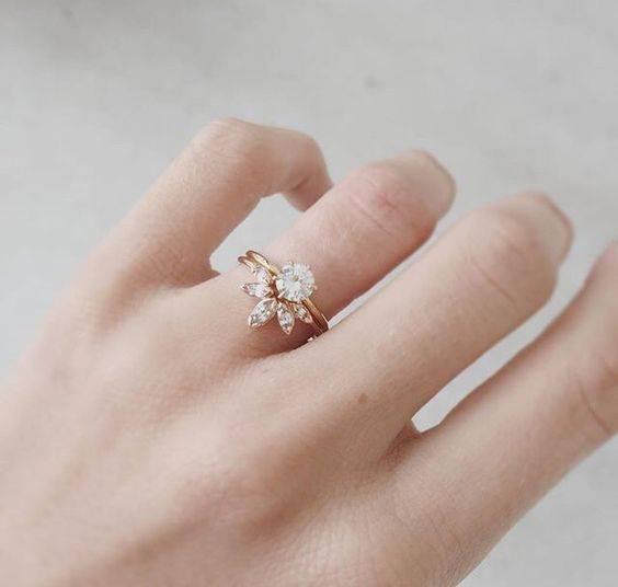 مدل انگشتر طلا زنانه