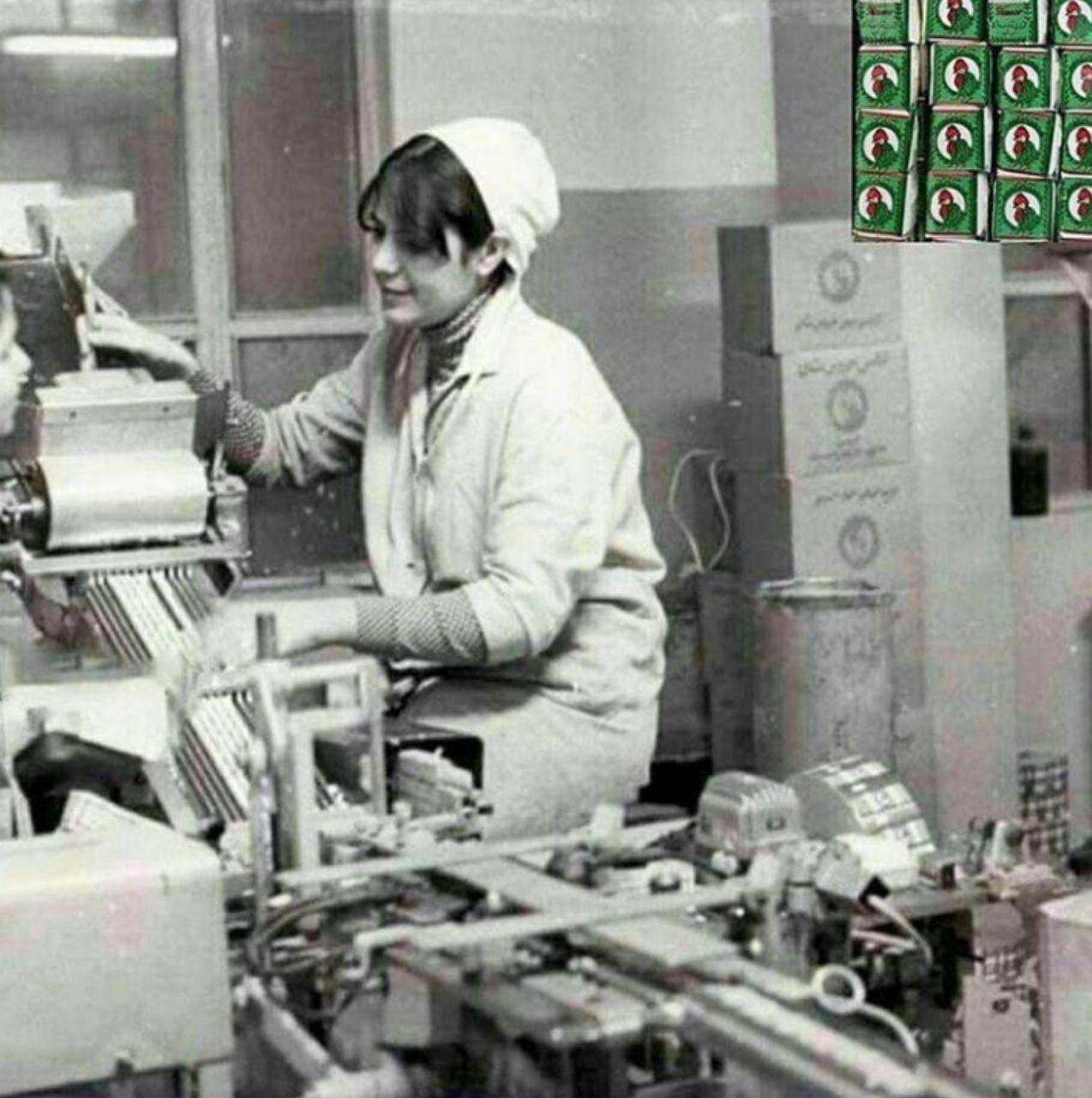 کارخانه آدامس خروس در دهه ۵۰ +عکس