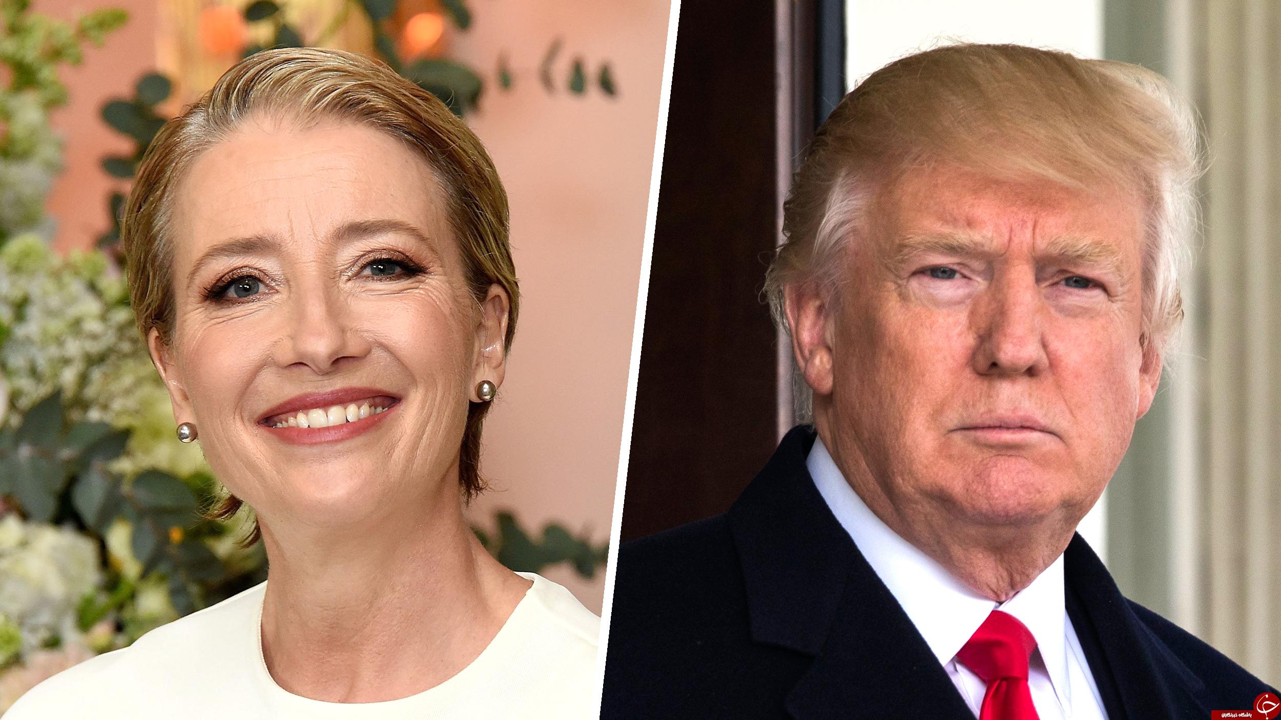 افشای علاقه ترامپ به یک بازیگر زن انگلیسی +تصاویر