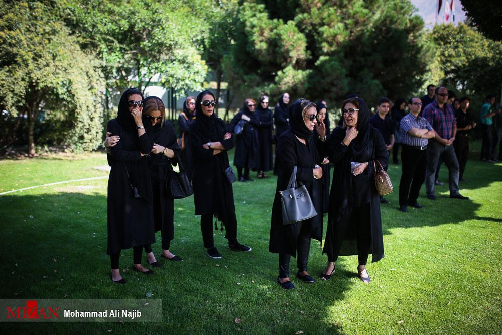 مراسم تشییع حسین عرفانی