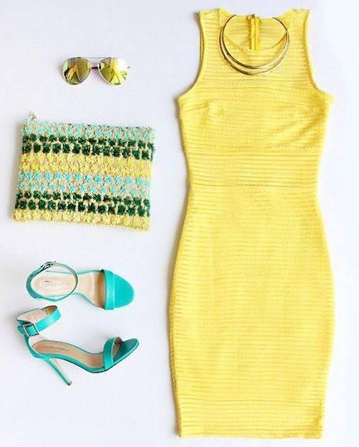 ست لباس مجلسی دخترانه رنگ جیغ و شاد