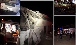 آخرین وضعیت مصدومان سانحه اتوبوس تهران - کرمان