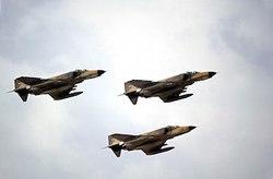 تمرین مشترک هوایی ارتش و سپاه در خلیج فارس