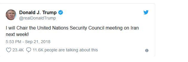 احتمال دیدار مقامات عالی ایران و آمریکا در جلسه شورای امنیت