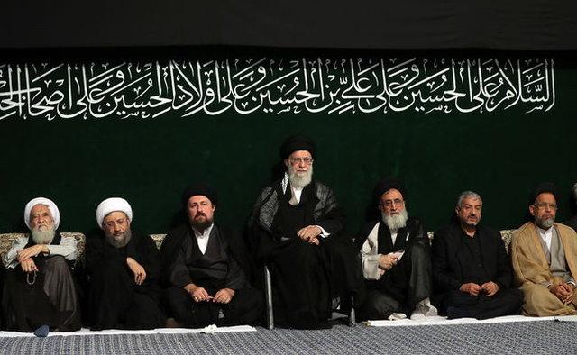 آخرین شب مراسم عزاداری اباعبدالله الحسین(ع)با حضور رهبر انقلاب