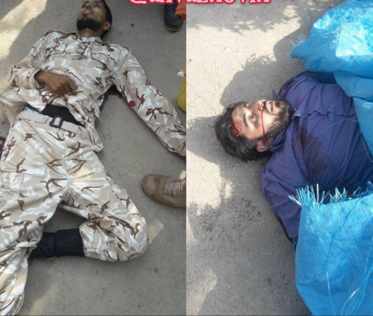 اولین تصویر از دو تروریست کشته شده در حمله به رژه اهواز