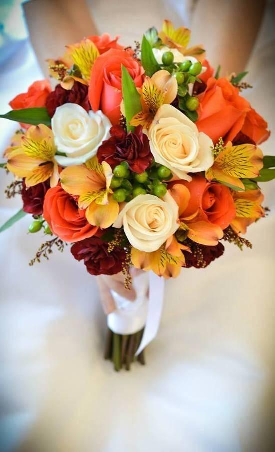 مدل های دسته گل پاییزی عروس جدید و شیک