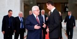 «محمود عباس» برای «بشار اسد» نامه نوشت