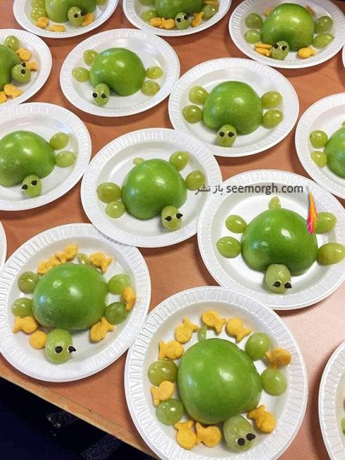 14 ایده جالب تزیین غذای کودک