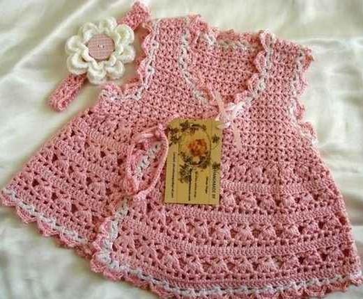 ست لباس بافتنی دخترانه بچه گانه شیک