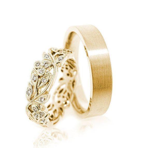 جدیدترین مدل حلقه های ست ازدواج