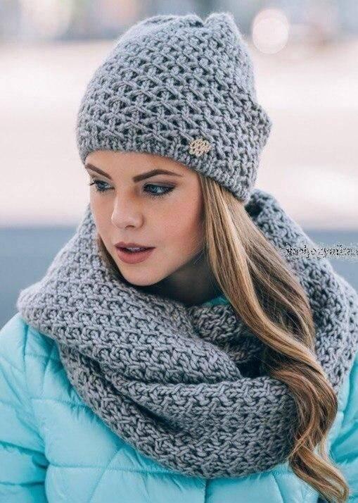 مدل کلاه بافتنی دخترانه ی جدید