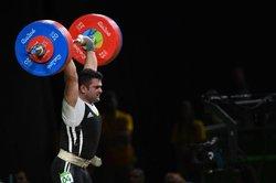 کاپیتان تیم ملی وزنهبرداری ایران ششم شد