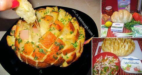 نان جادویی شکم پر، یک پیش غذای فوری و خوشمزه