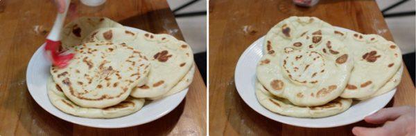طرز تهیه نان خوشمزه هندی