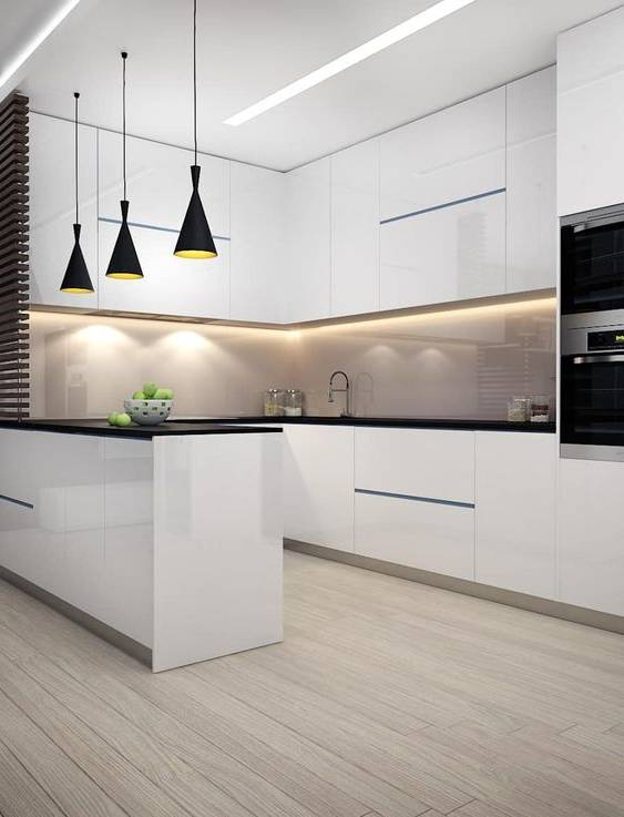 مدلهای دکوراسیون آشپزخانه به سبک ۲۰۱۸ - ۲۰۱۹