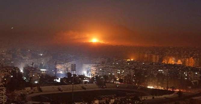 ائتلاف آمریکایی مواضع ارتش سوریه را موشکباران کرد