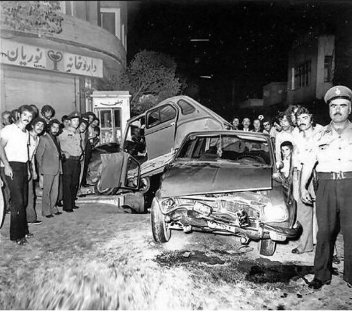 عکس: از قدیمی ترین تصادفات در ایران