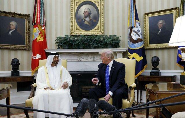 گفتوگوی تلفنی ترامپ و ولیعهد ابوظبی