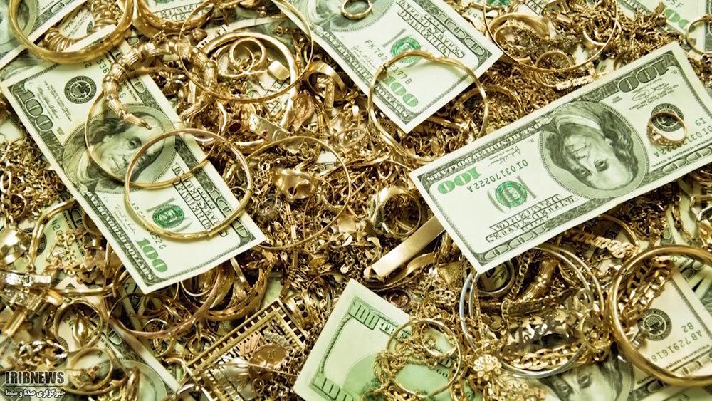 ریزش نرخ طلا با تقویت ارزش دلار