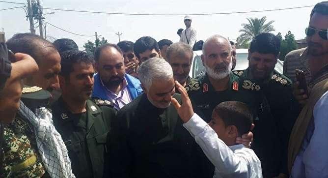 سردار سلیمانی: خوزستان، خصوصا مناطق عربی دژ مستحکم ما هستند