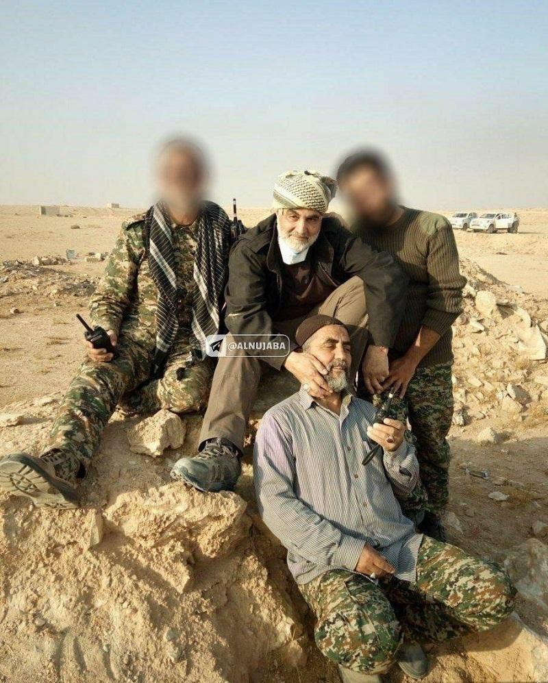 عکس/ تصویری دیده نشده از سردارسلیمانی پس از نابودی داعش