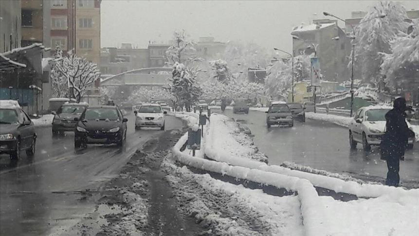 تعطیلی مدارس تهران به دلیل بارش برف زمستانی