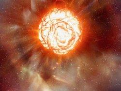 احتمال انفجار یک ستاره در حال مرگ بزرگتر از خورشید