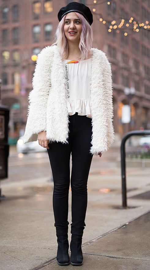 ۱۳ مدل کت زمستانی زنانه که هرگز از مد نمیافتند+تصاویر