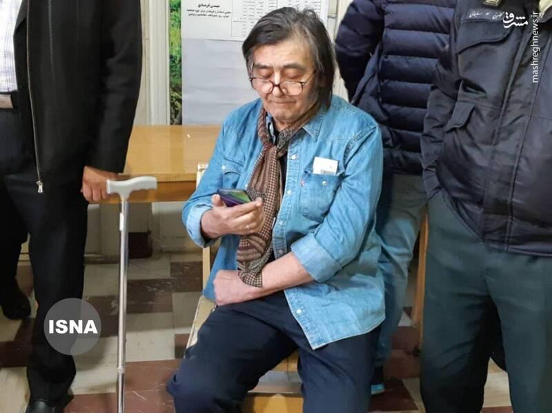حضور بازیگر معروف در انتخابات +عکس