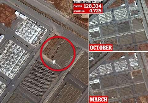 ادعای عجیب واشنگتن پست از دفن های دست جمعی در قم+عکس