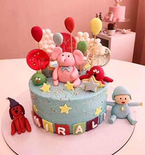 نمونههایی از جدیدترین تصاویر کیک تولد