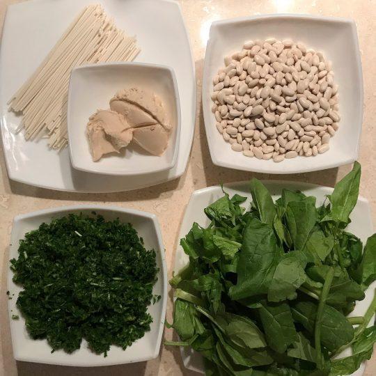 روش تهیه آش لوبیا سفید