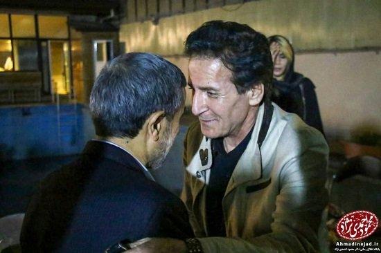 کدام بازیگران به افطاری احمدی نژاد رفتند؟