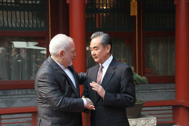 دیدار «ظریف» با وزیر امور خارجه چین
