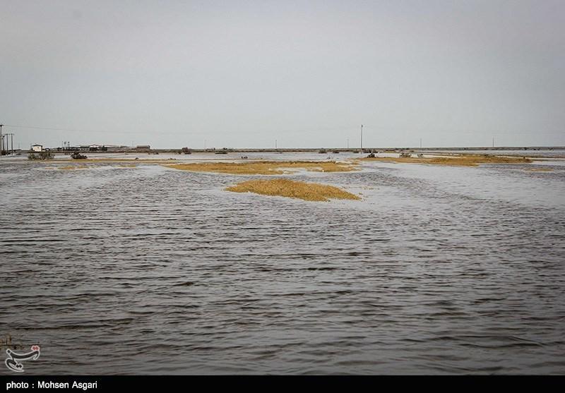 سیلاب محور مواصلاتی کلات به مشهدمقدس را مسدود کرد