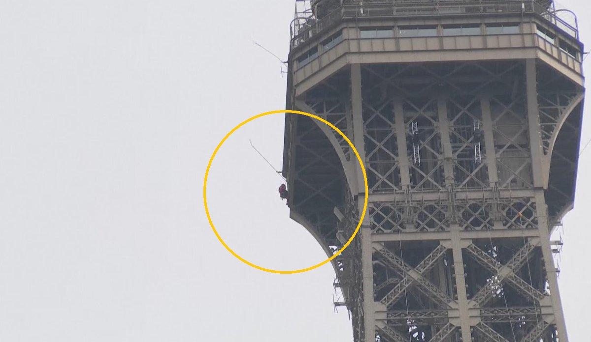 برج ایفل تخلیه شد +تصاویر