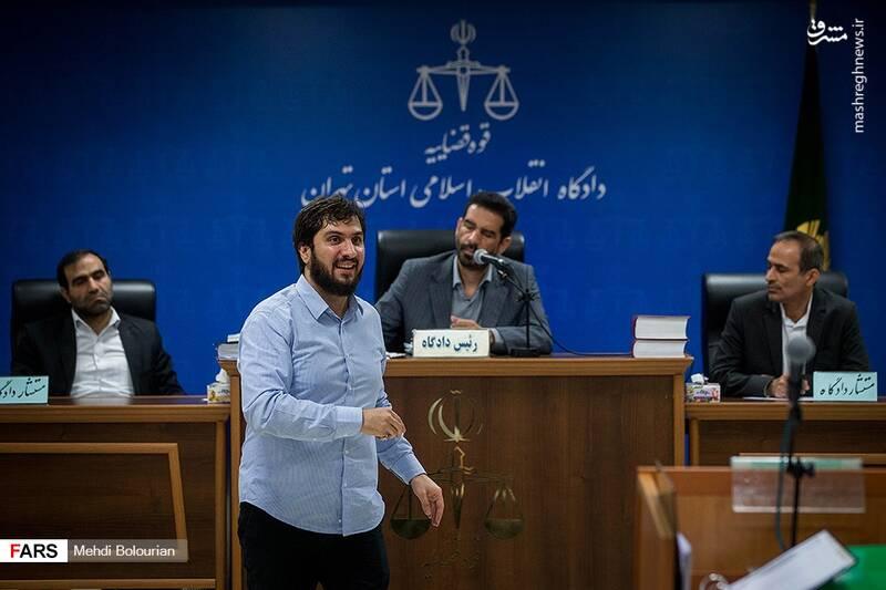 خندههای سیدهادی رضوی در دادگاه! +عکس