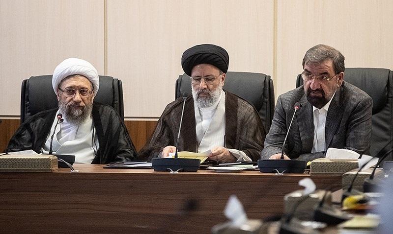 غیبت روحانی در جلسه مجمع تشخیص مصلحت +عکس