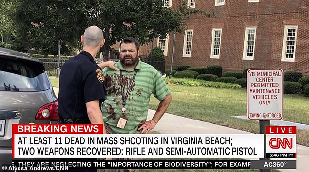 حداقل ۱۲ کشته در پی تیراندازی به ساختمان شهرداری ویرجینیا بیچ