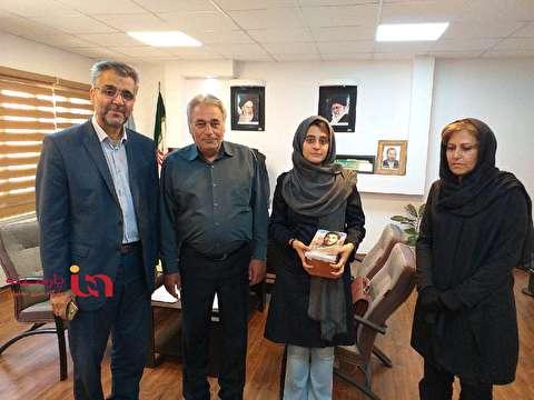 عکس دیدار مسافر معترض اسنپ با سعید عابد