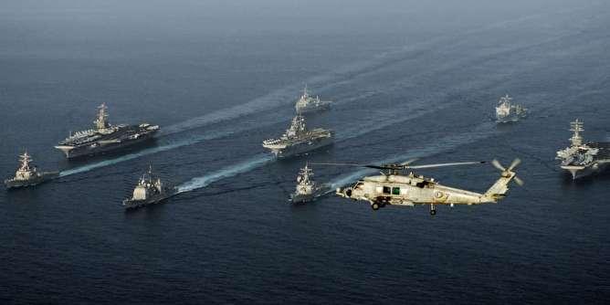 آمریکا برای مقابله با تهدید ایران در تنگه هرمز ائتلاف دریایی تشکیل میدهد