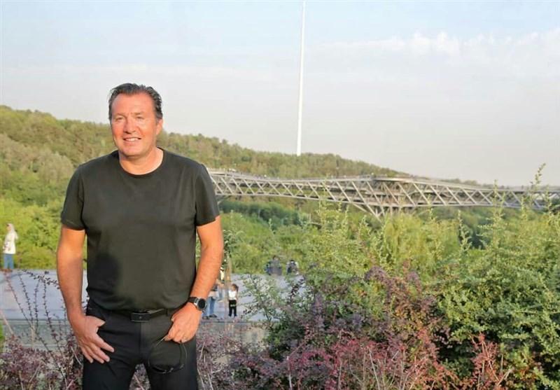 حضور مارک ویلموتس در پل طبیعت +تصاویر