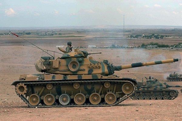 ارسال تجهیزات نظامی ترکیه به سمت مرزهای مشترک با سوریه