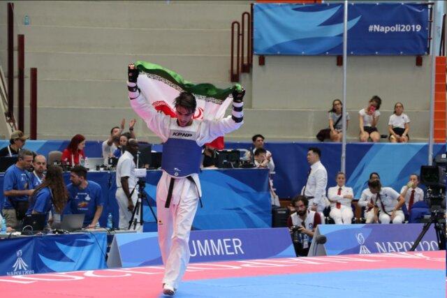 بخشی پنجمین طلایی ایران در یونیورسیاد ۲۰۱۹/ میرحسینی به مدال برنز رسید